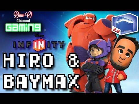 Disney Infinity 2.0 Baymax & Hiro Big Hero 6 Gameplay
