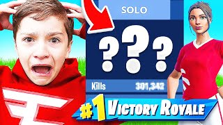 I EXPOSED FaZe H1ghSky1's Fortnite Stats (12 YEAR OLD)