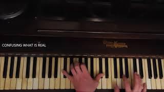 "Linkin Park ""Crawling"" TUTORIAL 2017 piano version"