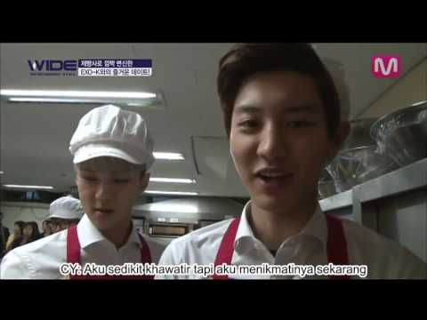 [INDOSUB] Baking cookies with EXO K