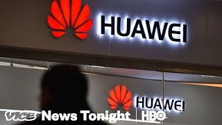 Inside The Chinese Telecom Giant That Trump Banned (HBO)