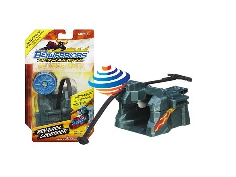 Beyblade BeyRaiderz Rev-Back Launcher Pack Unboxing Review Giveaway Exp March 9th