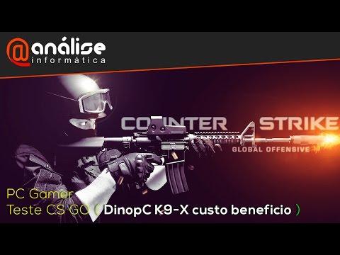 Teste Counter strike  Global Offensive PC Gamer K9-X (Core I3 4150 + GTX 650 2 GB)