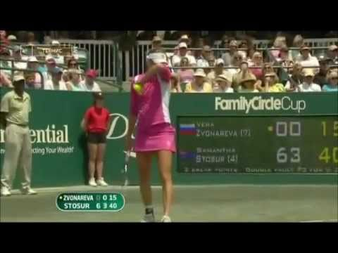 Vera Zvonareva racket-smash-action