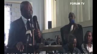 Procès du 4 mars 2012   Audition de Mboulou Raymond et Général Mondjo Blanchard Richard