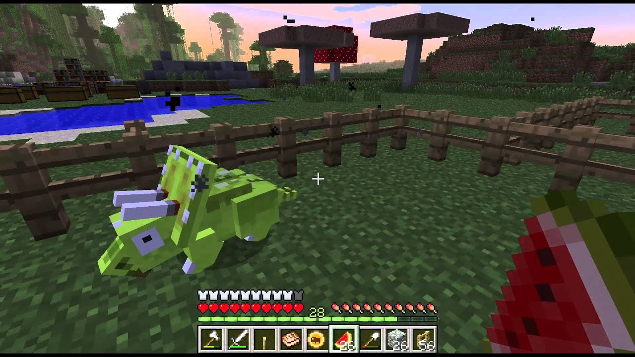Minecraft Dinosaurs Triassic