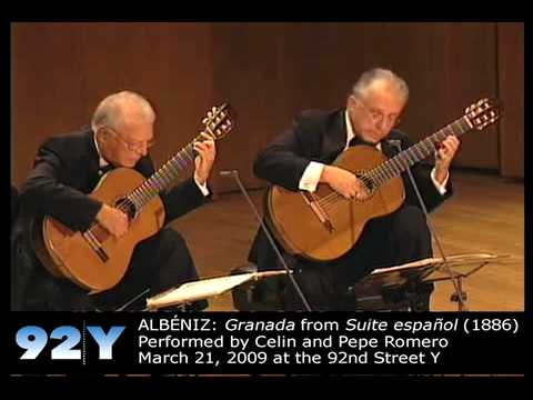 0 Los Romero: 50th Anniversary Concert at 92Y   ALBÉNIZ: Granada from Suite española (1886)