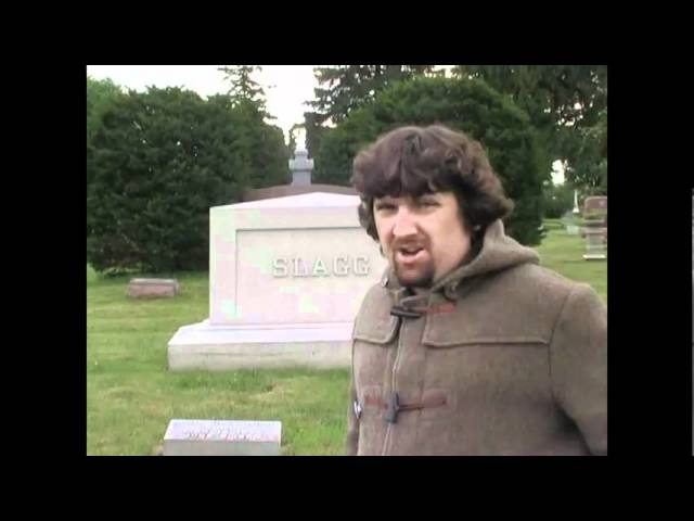 Danny Pensive visits the cemetry