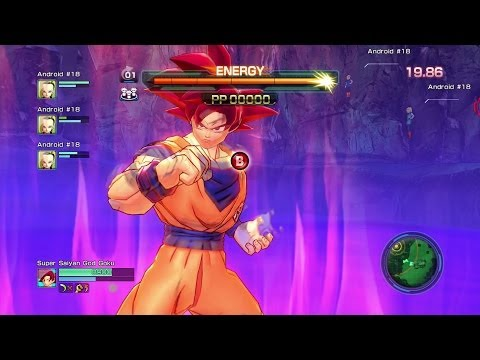 Dragon Ball Z: Battle of Z - Super Saiyan God Goku v Bills (Beerus) Gameplay HD