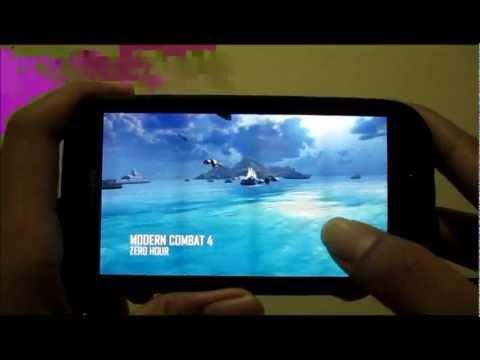 Gaming review Samsung Galaxy S III korean version. SHV-E210K. Gameloft. EA. Imangi!