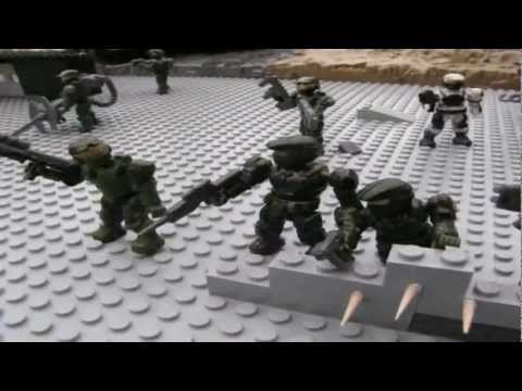 Halo Mega Bloks: Battle for Tabletop Ridge (Stopmotion Contest entry) 31/10/11