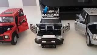 Moje modele samochodów w skali 1/24 w kategorii terenowe