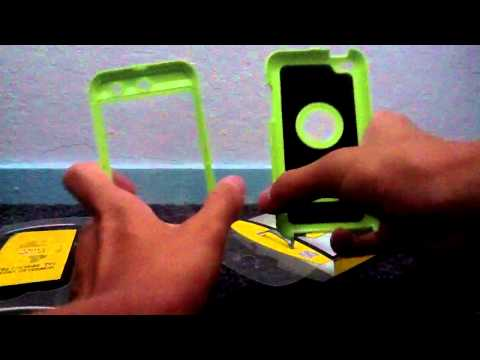 Otterbox Defender Series For IPod Touch 4g Review and Unbox