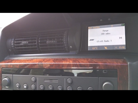 Siemens NCDC 2013 + CID Colour Display In Depth Tour Overview Review Vauxhall Opel Omega 3.2 V6