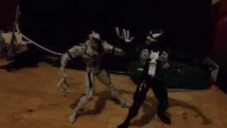 Anti venom vs Venom stop motion