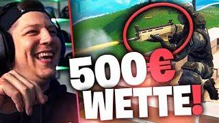 Die 500 Euro Wette in Fortnite | SpontanaBlack