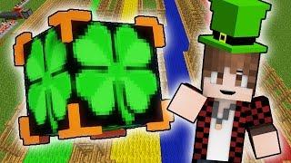 LUCKY BLOCKS IRISH LUCK BLOCKS RACE! Minecraft Lucky Blocks Modded Mini-Game