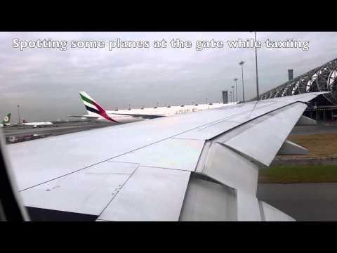 Thai Airways Boeing 777-300ER Economy Class Flight Report: TG692 Bangkok to Seoul Part 1/3
