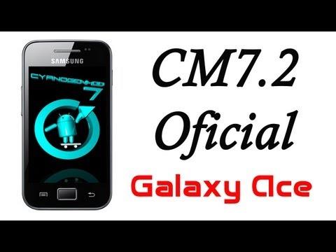 ROM CyanogenMod 7.2 Oficial para el Galaxy Ace