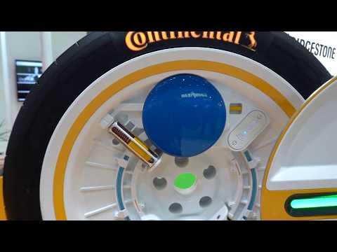 コンチネンタルの「Conti C.A.R.E.」に採用される「自動空気圧調整システム」/コンチネンタルの面照射型短距…他