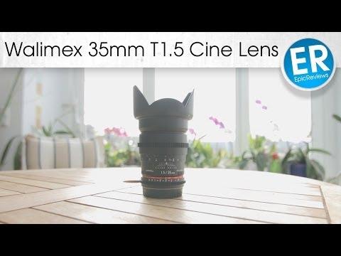 Ein Cinema Objektiv für weniger als 500€? - Walimex 35mm T1.5 im Test