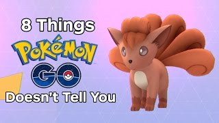 8 Things Pokemon Go Doesnt Tell You