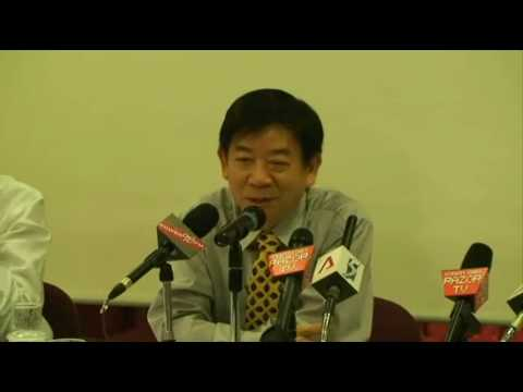 Tamiflu and Relenza are treatments not vaccines - Singapore MOH Press Conference (29 April 09)