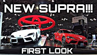 Seeing The 2020 Toyota Supra In Person For The First Time Made Me A Believer