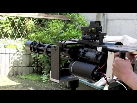 CAW M134 with Holosight & Laser