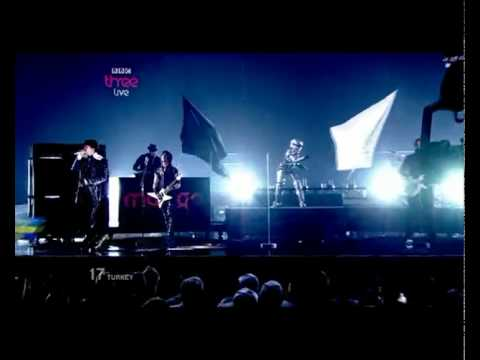 EUROVISION 2010 TURKEY - MANGA - WE COULD BE THE SAME HQ (2ND SEMI-FINAL) klip izle