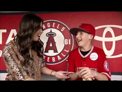 Angels Weekly: Make-a-Wish with Mike Trout