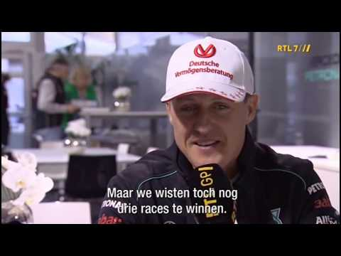 [ENG] Last Interview with Michael Schumacher