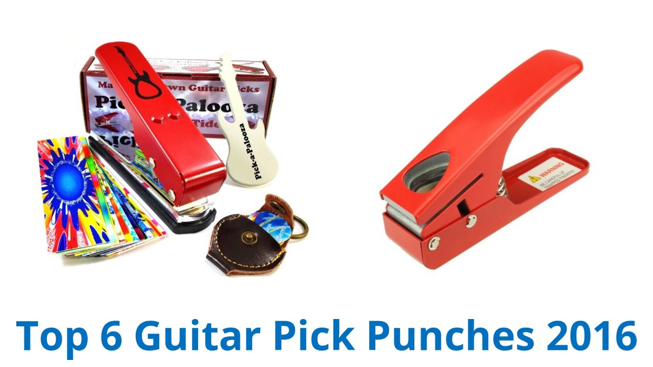 6 Best Guitar Pick Punches 2016