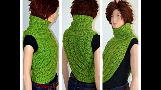 How to Crochet the Katniss Inspired Cowl