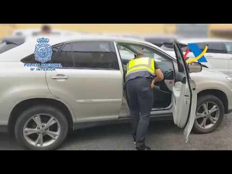 Operación de la Policía Nacional con la colaboración de la Agencia  #AEAT