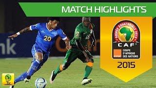 Can 2015 | Poule B - Cap Vert 0-0 Zambie