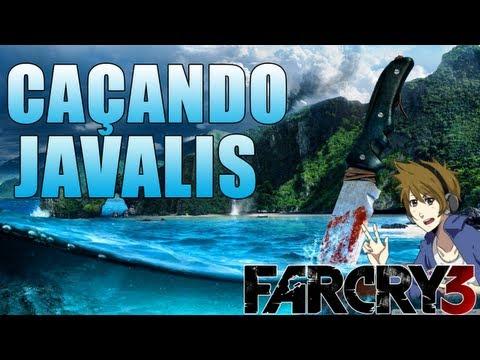 Far Cry 3 - Pegando couro de Javali
