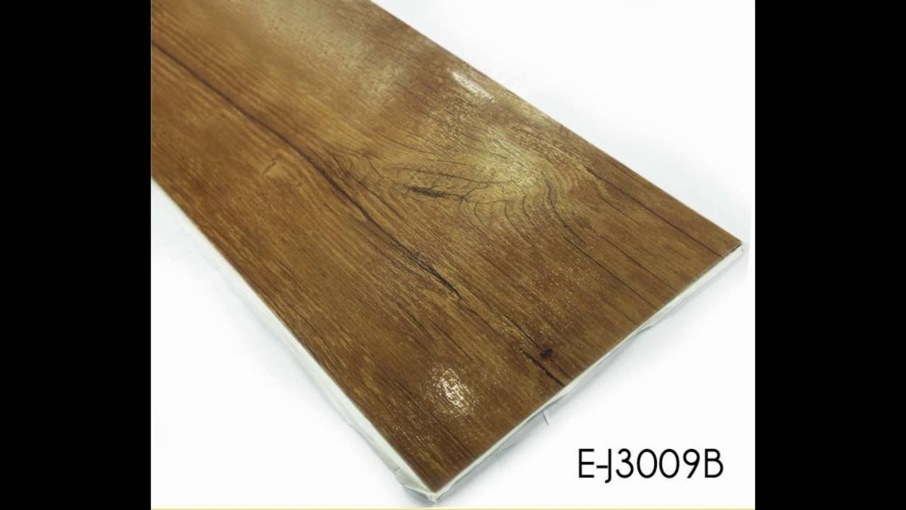 Waterproof floor tile