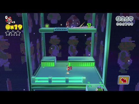 THIS SH#T IS TOO HARD! [PAUSE] [SUPER MARIO 3D WORLD]