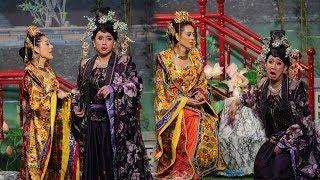 """""""Song kiếm hợp bích"""" tại gameshow,Trấn Thành Lâm Khánh Chi đối đáp bá đạo khiến fan vỗ tay rần rần"""