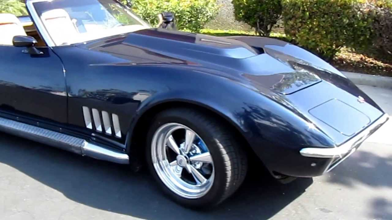 1971 Corvette Resto-Mod Walk-Around - YouTube