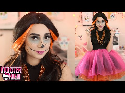 Skelita Calaveras Monster High Doll Tutorial   Colab Con La Clika