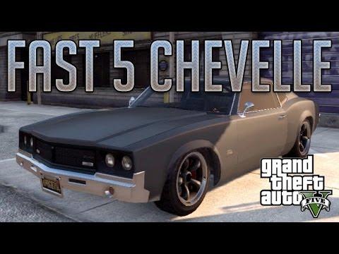 Fast & Furious Chevelle (Sabre Turbo) : GTA V Custom Car Build