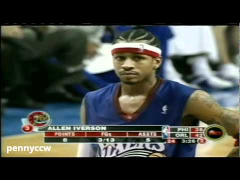 NBA Greatest Duels: Allen Iverson vs. Tracy McGrady (2004)