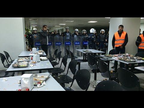 İTÜ'de üniversiteliler faşist saldırıyı püskürttü