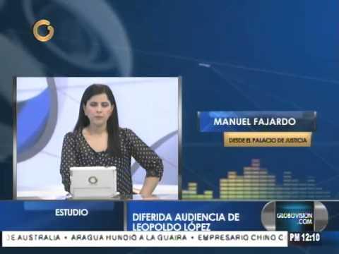 Diferida audiencia de Leopoldo López