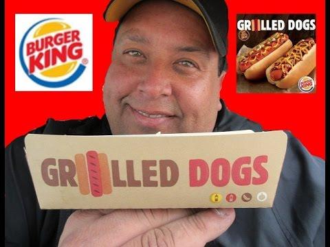 BURGER KING® GRILLED DOGS REVIEW!!