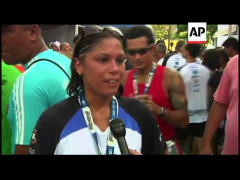 Residents of Rio's largest favela hold a 'peace run'