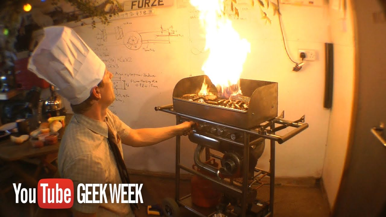 JET ENGINED BBQ.....The TURBAQUE - YouTube