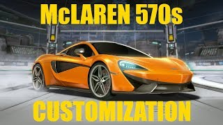 Rocket League - McLaren 570s Review/Customization!